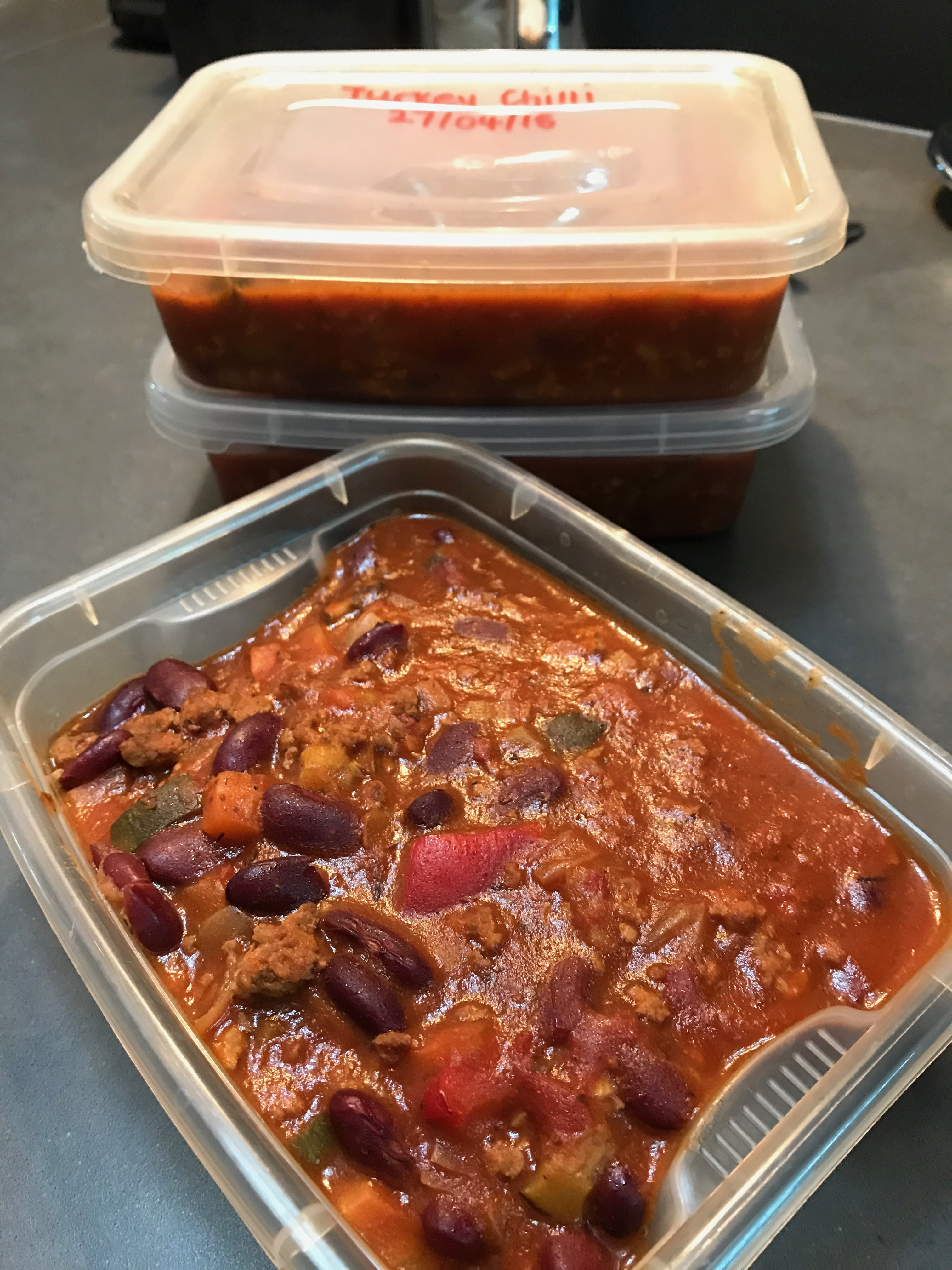 Chilli Con Carne with turkey mince (181 calories) | flid-fit